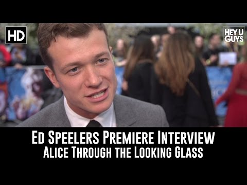 Alice Through the Looking Glass Premiere Interview - Ed Speleers