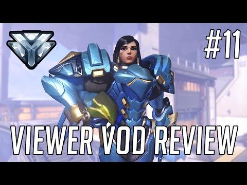 Viewer VOD Review #11 - McCree/Pharah on Gibraltar [DIAMOND]