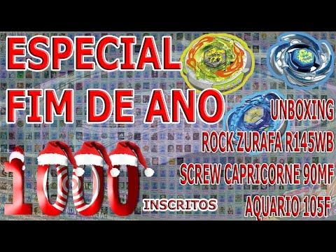 Especial Fim de Ano 2013 - Unboxing Rock Zurafa R145WB, Screw Capricorne 90MF e Aquario 105F