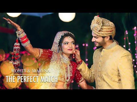 Rohit Marina Wedding Film The Perfect Match Best Wedding 2017 2018 Sahni Studio Youtube