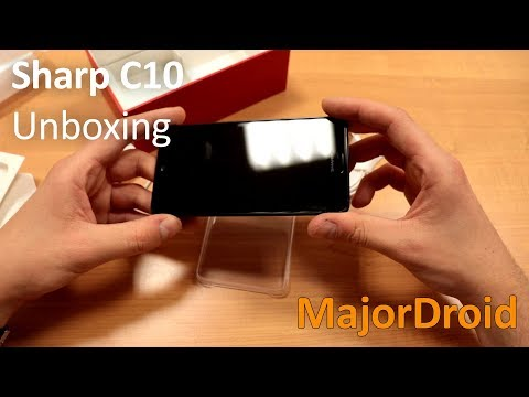 Sharp Aquos C10 [UNBOXING]