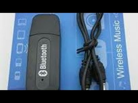 Iwave Bluetooth adapter audio receiver 3.5mm music, convert into Bluetooth speaker unboxing, review