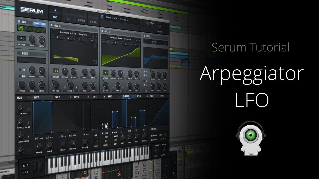 Serum vst tutorial | How to Make a Future Bass Synth in Serum