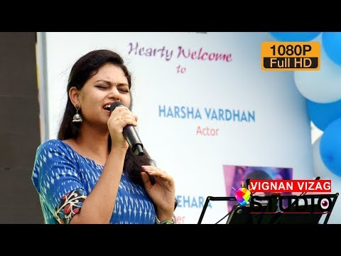Bahubali Dheevara Song - Live by Ramya Behara at Vignan Vizag