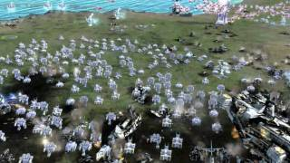 Supreme Commander 2 - Multiplayer Gameplay (PC / XBox360)