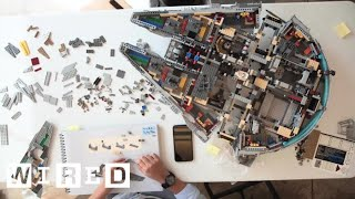 Watch Us Build a 7,500 Piece Lego Millennium Falcon | WIRED