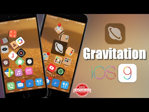 Gravitation Jailbreak Tweak Adds The Force Of Gravity To Your Home Screen Icons