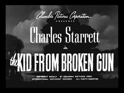 The Durango Kid - Kid From Broken Gun - Charles Starrett, Smiley Burnette, Jock Mahoney