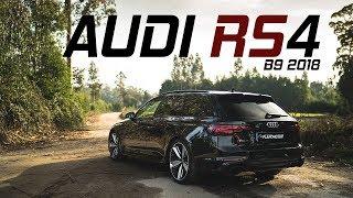 A NOVA AUDI RS4 Avant B9   Adeus V8, olá V6 Biturbo.