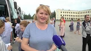 300 школьников отправились из Карачаево-Черкесии на летний отдых в Кабардино-Балкарию