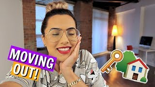 I'm MOVING OUT | My new place