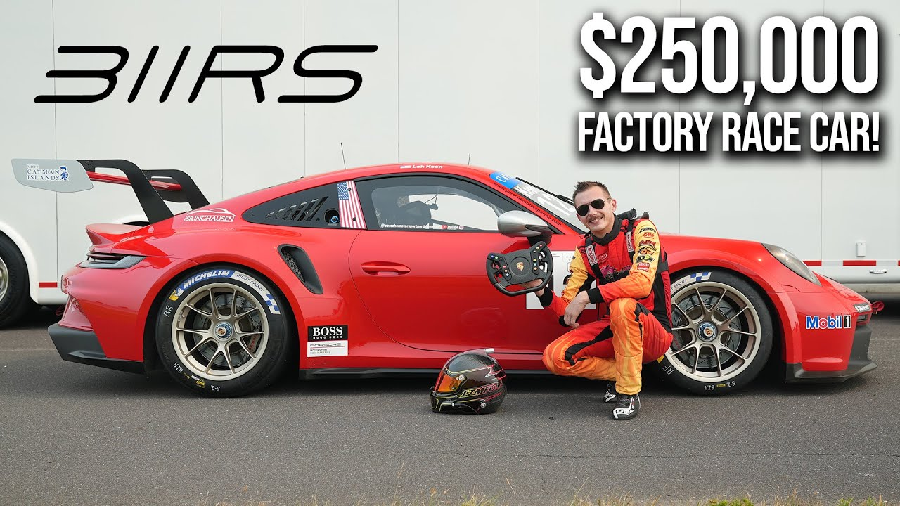 Download Driving a Porsche 992 GT3 Cup Car!