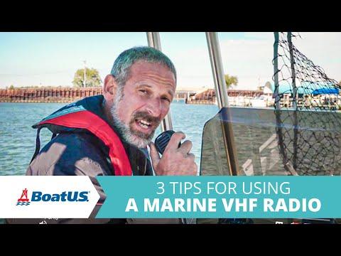 3 Tips for Using a VHF Radio | BoatUS