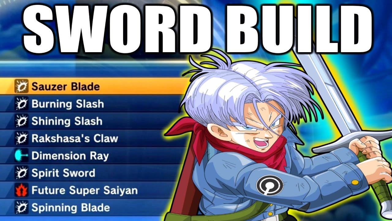 FULL SWORD/BLADE THEMED MOVESET! | Dragon Ball Xenoverse 2