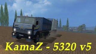 Farming Simulator 2015 ����� ���� ( KamaZ 5320 v 5 )