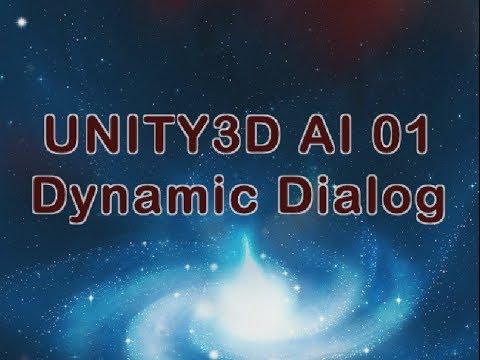 UNITY C# AI 01 - Dynamic Dialog