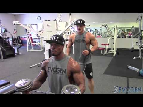 ifbb-pros-jeremy-buendia-&-tory-woodward-fst7-chest-training-part-1-of-2