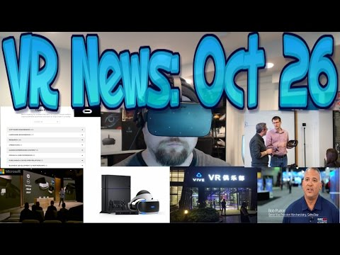 VR News: Oct 26 - Microsoft $299 VR Units Hype from Fact!? - PSVR Exceeded Expectations & More!