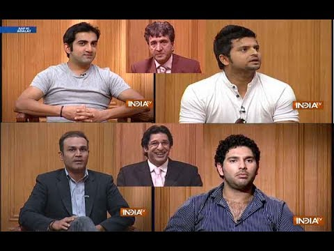 Aap Ki Adalat: Top Moments of Indian and Pakistani cricketer