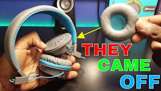 How to Fix JLAB Neon Wireless Bluetooth headphones - Ear pads Came off  | JLAB | Get Fixed