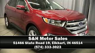 Used Suv for sale Elkhart in  | 2015 Ford Edge SEL SUV | Used Ford Edge Review |