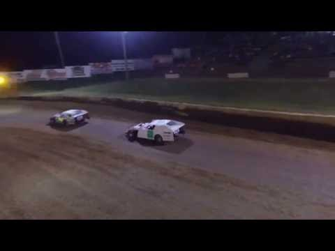 9/3/16 Lincoln Park Speedway Modified - Drone Footage