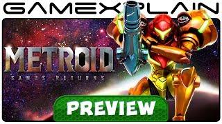 Metroid: Samus Returns - Hands-On PREVIEW (3DS)