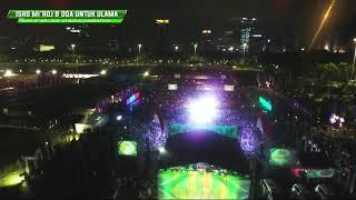 Download Nurul Musthofa Isro Mi'roj 20 Rojab 1439  H/7 April 2018 di Lapangan Monas Jakarta Pusat