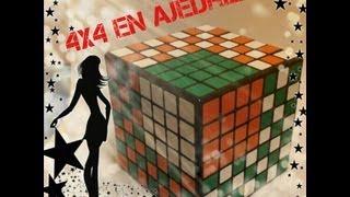 patron para cubo 7x7 ajedrez con 4x4 patterns algoritmo