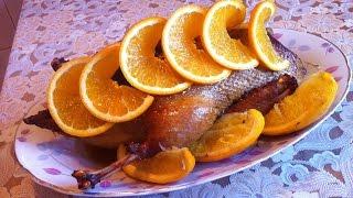 Запеченная Утка с Апельсинами / Baked Duck With Oranges / Праздничный Рецепт (Вкусно и Красиво)
