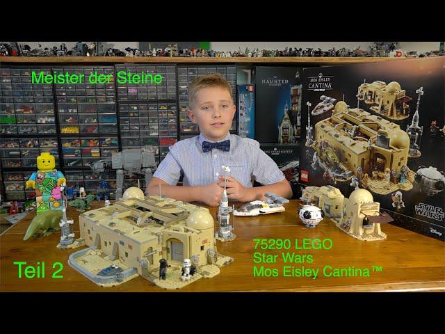Mos Eisley Cantina™, LEGO 75290, Meister der Steine