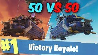 *NIEUWE* 50 VS 50 GAMEMODE SPELEN?! - Fortnite Battle Royale