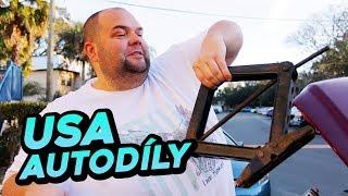 Prodejny autodílů v Americe! Spadlo mi auto z heveru!!!