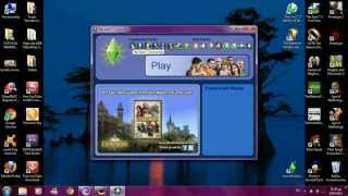 The Sims 2 all expansions HD 2012