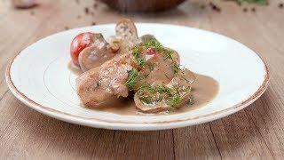 Куриное филе в сливочном соусе - Рецепты от Со Вкусом