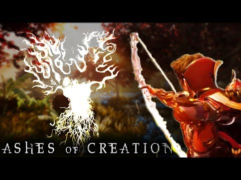 NEW Ashes of Creation Arena - Action Combat Gameplay in AoC Alpha One Arena