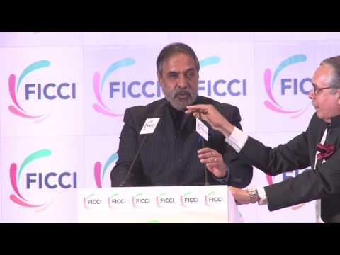 Anand Sharma Deputy Leader of Opposition at FICCI's 89th AGM