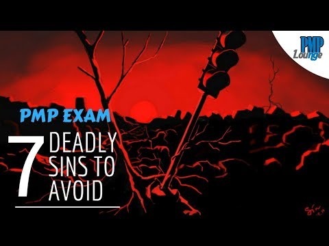 Avoid the 7 Deadly Sins of PMP