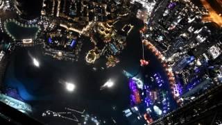 Tańczące fontanny pod Burj Khalifa, Dubaj