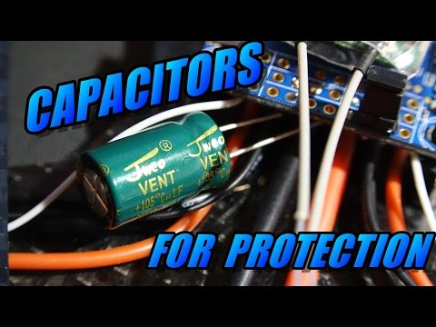 Capacitors Used For Protection
