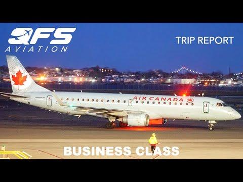 TRIP REPORT | Air Canada - E190 - New York (LGA) To Toronto (YYZ) | Business Class