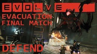 EVOLVE: Wraith Evacuation Series ShoutCast Finale - DEFEND (Wraith PoV - PC Evolve Gameplay)