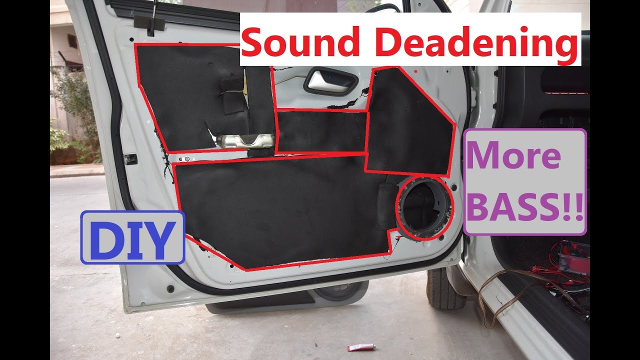 CAR AUDIO PART - 1 : Sound Deadening