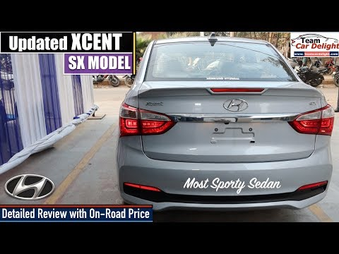 Hyundai Xcent Sx Model 2019 Detailed Review with On Road Price | Xcent 2019 Sx