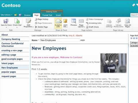 Capture Enterprise Knowledge Management in a SharePoint 2010 Enterprise Wiki - EPC Group