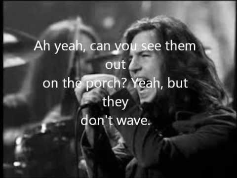Pearl Jam - Yellow Ledbetter Lyrics