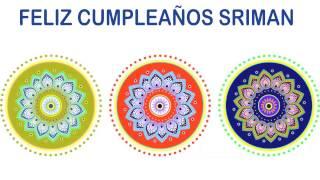 Sriman   Indian Designs - Happy Birthday