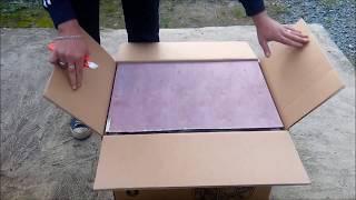 Бензогенератор HUTER DY4000L из коробки