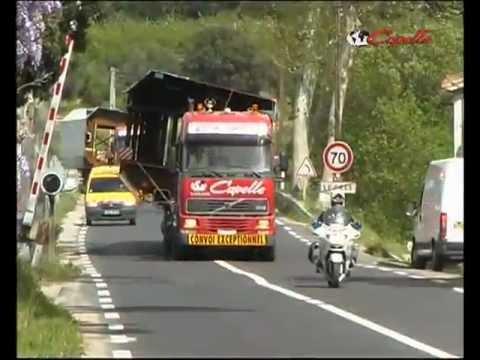 Viaduc de Millau - Transports Capelle