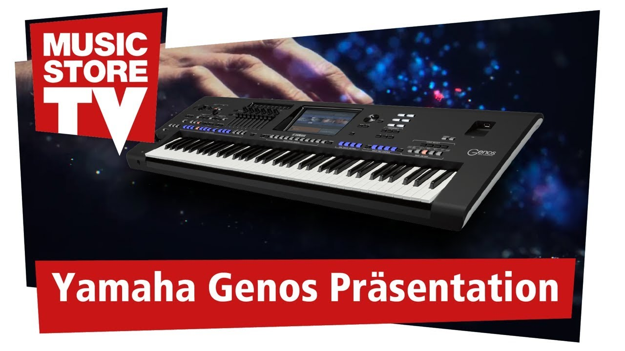 Yamaha Genos | DV247 | en-GB